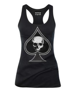 Thee Ace Of Spades - Tank Top Aesop Originals Clothing (Black)