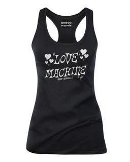 Love Machine - Tank Top Aesop Originals Clothing (Black)