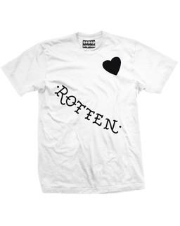 Harley Quinn's Rotten - Face Tattoos - Fan Art - Mens Tee Shirt Aesop Originals Clothing (White)