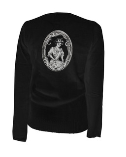 Let's Shove Off Boys - Cardigan Aesop Originals Clothing (Black)