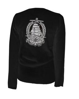 Ahoy There Matey - Cardigan Aesop Originals Clothing (Black)