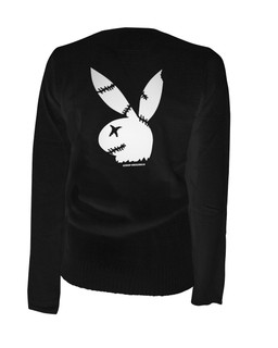 Zombie Bunny - Cardigan Aesop Originals Clothing (Black)