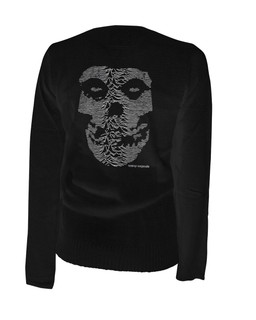 The Unknown Ghost - Cardigan Aesop Originals Clothing (Black)
