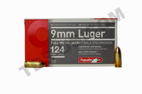 AGUILA 9MM 124GR FMJ - 50 ROUNDS