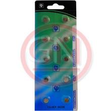 10 Vinnic SG4, 377, 376, V377, SR626SW, SR66, S626S, D377, D376 Silver Oxide Coin Cell Batteries