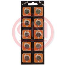10 Vinnic SG8, G8, SR55, 391, 553, 23, RW40, D391, D381 Silver Oxide Coin Cell Batteries