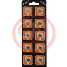 10 Vinnic SG2, SR726S, SR726, SR59, 396, 397, 556, 29, RW411 Silver Oxide Coin Cell Batteries