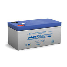 Power Sonic PS1230 12V 3.4Amp. Hr. Sealed Lead Acid (SLA) Rechargeable Battery