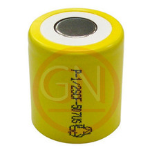 1/2 Sub-C Rechargeable Battery Ni-Cd  800mAh, Flat Top