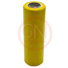AA Rechargeable Battery Ni-Cd  750mAh, Flat Top