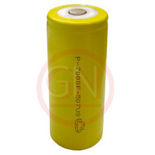 F Rechargeable Battery Ni-Cd 7000mAh, Flat Top