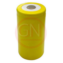 D Rechargeable Battery Ni-Cd 4400mAh, Flat Top