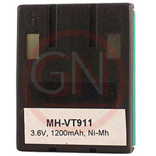 MH-VT9111 3.6V Ni-Mh Phone Battery for VTech 80-4280-00-00, 80-4134-02-00, VSB