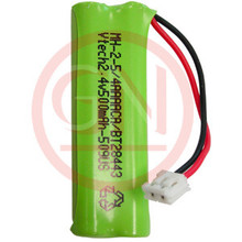 BT28443 2.4V Ni-Mh Phone Battery for Vtech 89-1337-00, BT18443
