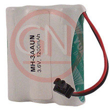 MH-3AAUN 3.6V Ni-Mh Phone Battery with Universal Connector