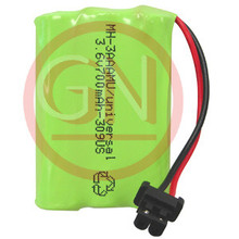 MH-3AAAUN 3.6V Ni-Mh Phone Battery with Universal Connector