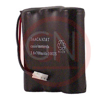 3AACA 3.6V Ni-Cd Phone Battery for AT&T 2300, GE 52459, Motorola C70, Panasonic 23298 & etc.