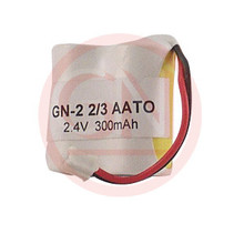 GN-2-2/3AATO 2.4V Ni-Cd Cordless Phone Battery for Sony BP-T21