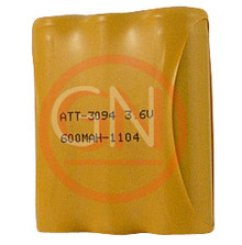 ATT-3094 3.6V Ni-Cd Phone Battery for AT&T 3094, 9400, 9450 / Sanyo CLT909, GESPCF09