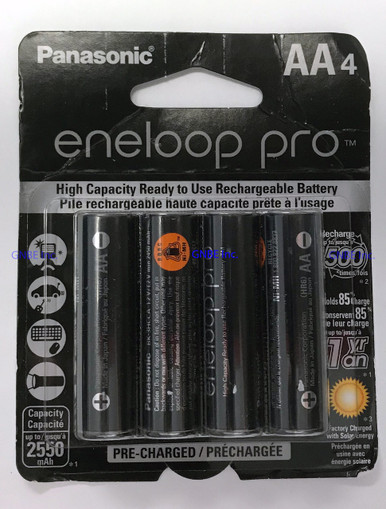 Panasonic Eneloop Pro AA 4 pack