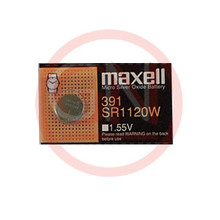 1 Maxell SR1120W, 391 Silver Oxide Watch Battery