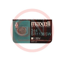 1 Maxell SR1136SW, 344 Silver Oxide Watch Battery