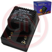 Hitech WY-29V Standard twin bank Battery Charger for 9V rechargeable