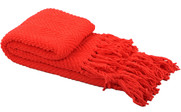 Fiesta Knitted Tweed Throw Folded