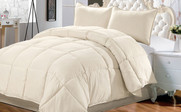 White Swan Down Alternative Comforter 3 Piece Set
