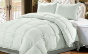 Chalk Blue Down Alternative Comforter 3 Piece Set