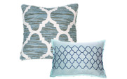 Honor Quilted 7 Piece Bed Spread Throw Pillows