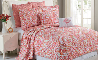 Revington Quilted 7 Piece Bed Spread Set