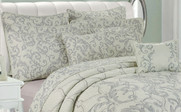 Marisol Quilted 7 Piece Bed Spread Set Pillow Collection