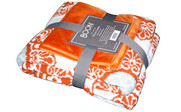 Delia Knitted Throw & Matching Pillow Shell Combo 3 Piece Set Pack