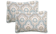 Tivoli Ikat Quilted 5 Piece Bed Spread Set Shams