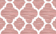 Bridal Rose Honor Curtain and Throw Pillow Set Pattern Detail
