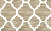 Wind Chime Honor Curtain and Throw Pillow Set Pattern Detail