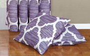 Lavender Honor Throw Pillow Shell Set