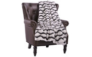 Irene Faux Fur and Sherpa Throw Blanket
