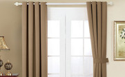 Amphora Black Out Curtain 4 Piece Set