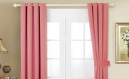Strawberry Ice Black Out Curtain 4 Piece Set