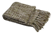 Martini Olive Naga Knitted Throw Roll