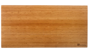Bamboo Smooth Desk Top Vertical
