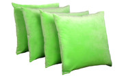 Serenta Supersoft Pillow Shell 4 Piece Set Green Flash