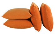 Serenta Supersoft Pillow Shell 4 Piece Set Burnt Orange