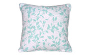 Teal / Turquoise Birdsong 6 Piece Bed Spread Set Throw Pillow