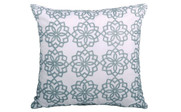 Marina Medallion Printed Quilted Throw Pillow One