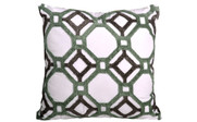 Ravello Scroll Printed Quilted 6 Piece Bed Spread Set Throw Pillow 2