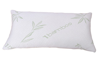 Serenta Hypoallergenic Shredded Memory Foam Pillow with Bamboo Shell