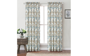 Tivoli IKAT Curtain Set Full View